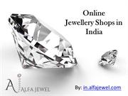 Online Jewellery Shops in India