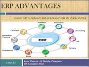 Advantages of ERP