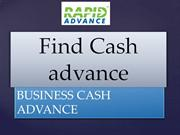 Find Cash advance