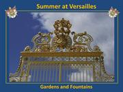 Versailles ( Gardens & Fountains)