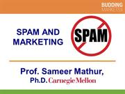 Spam and Marketing by Professor S. Mathur (smathur.com)