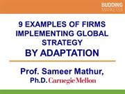 Adaptation Examples by Professor S. Mathur (smathur.com)