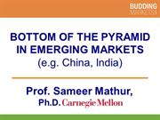 Bottom of the Pyramid in Emerging Markets