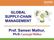 Global Supply Chain Management by Professor S. Mathur (smathur.com)