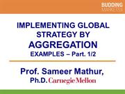 Implementing Global Strategy By Aggregation part 1