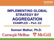 Implementing Global Strategy By Aggregation part 2