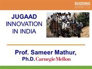 Jugaad - Innovation in India