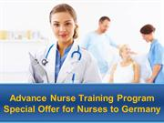 Special Offer for Nurses to Germany