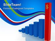 Financial Growth Business PowerPoint Themes And PowerPoint Slides ppt