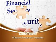 Financial Puzzle Security PowerPoint Templates And PowerPoint Backgrou