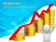 Financial Success Business PowerPoint Templates And PowerPoint Backgro
