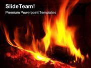 Fire Abstract PowerPoint Templates And PowerPoint Backgrounds pgraphic