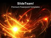 Fireworks Abstract Background PowerPoint Themes And PowerPoint Slides