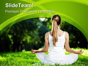 Fitness Exercise Health PowerPoint Templates And PowerPoint Background