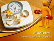 Fitness Scales Health PowerPoint Themes And PowerPoint Slides ppt desi