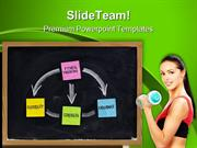 Fitness Training Concept Health PowerPoint Templates And PowerPoint Ba