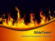 Fire Flames Abstract PowerPoint Templates And PowerPoint Backgrounds p