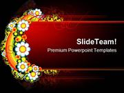 Floral Abstract Background PowerPoint Templates And PowerPoint Backgro