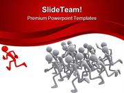 Follow The Leader Leadership PowerPoint Templates And PowerPoint Backg