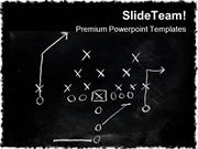 Foot Ball X S Game PowerPoint Templates And PowerPoint Backgrounds ppt