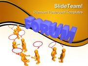 Forum Communication PowerPoint Themes And PowerPoint Slides ppt layout