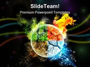 Four Seasons Environment PowerPoint Templates And PowerPoint Backgroun