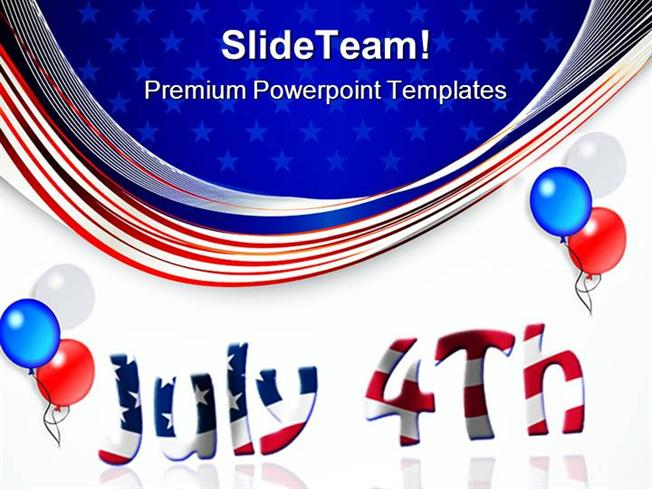 Fourth july americana powerpoint templates and powerpoint backgrou presentation description toneelgroepblik Image collections