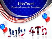 Fourth July Americana PowerPoint Templates And PowerPoint Backgrounds