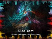 Fractal Abstract Background PowerPoint Themes And PowerPoint Slides pp