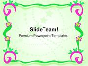 Frame Of Spirals Art PowerPoint Templates And PowerPoint Backgrounds p