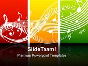 Fresh Music Theme Symbol PowerPoint Themes And PowerPoint Slides ppt l