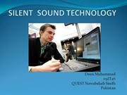 SILENT SOUND TECHNOLOGY