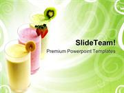 Fruit Smoothies Food PowerPoint Templates And PowerPoint Backgrounds p
