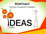 Fruitful Ideas Business PowerPoint Templates And PowerPoint Background