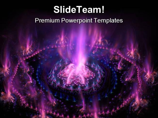 futuristic purple with blue background powerpoint themes and power, Presentation templates