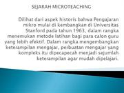 micro teaching