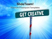 Get Creative Metaphor PowerPoint Templates And PowerPoint Backgrounds