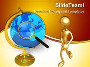 Global Communication Concept Technology PowerPoint Templates And Power