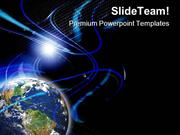 Global Communication PowerPoint Templates And PowerPoint Backgrounds p