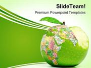 Global Consumption Globe PowerPoint Templates And PowerPoint Backgroun