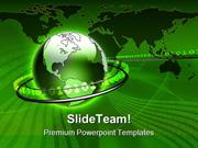 Global Data Communication PowerPoint Templates And PowerPoint Backgrou