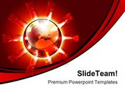 Global Destruction Abstract PowerPoint Themes And PowerPoint Slides pp