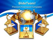 Global E Mail Computer PowerPoint Templates And PowerPoint Backgrounds