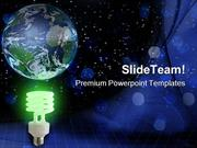 Global Green Idea Technology PowerPoint Templates And PowerPoint Backg
