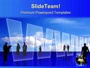 Global Information Technology PowerPoint Templates And PowerPoint Back