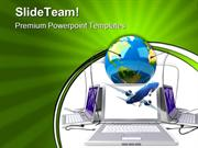Global Network Internet PowerPoint Themes And PowerPoint Slides ppt de