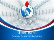Global Leader Leadership PowerPoint Templates And PowerPoint Backgroun