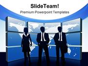 Global Team Business PowerPoint Templates And PowerPoint Backgrounds p