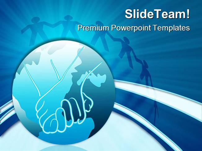 Global Unity Globe Powerpoint Themes And Powerpoint Slides Ppt Des