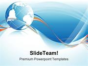 Globe Abstract Background PowerPoint Templates And PowerPoint Backgrou